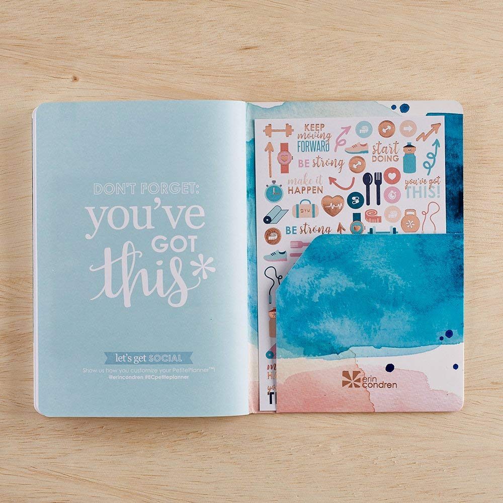 Erin Condren PetitePlanner Wellness Log