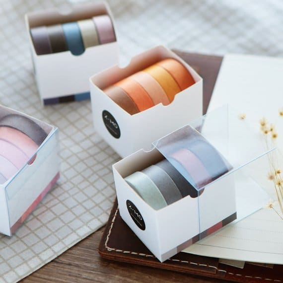 PaperGameCo – Assorted Colors Washi Tape Sets