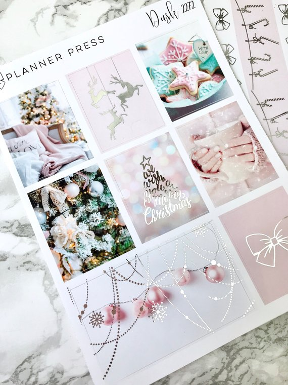 PlannerPress – Christmas Blush Kit