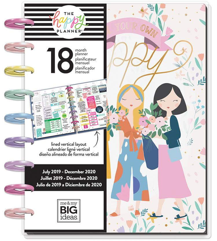 Classic Happy Planner® - Squad Life - 18 Months (2019-2020)