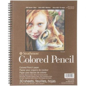 best paper for drawing with colored pencils