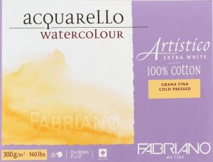 best paper for watercolor and colored pencil