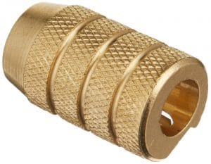 Alvin, 9866, Brass Bullet Best Pencil Sharpeners for Artists, Replaceable Stainless Steel Blade