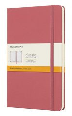 Moleskine Classic Notebook for Work color daisy pink