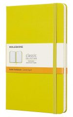 Moleskine Classic Notebook for Work color dandelion yellow