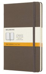 Moleskine Classic Notebook for Work color earth brown