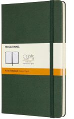 Moleskine Classic Notebook for Work color myrtle green
