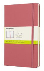 Moleskine Classic Notebook for Work color pink daisy