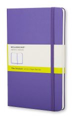 Moleskine Classic Notebook for Work color purple