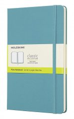 Moleskine Classic Notebook for Work color reef blue