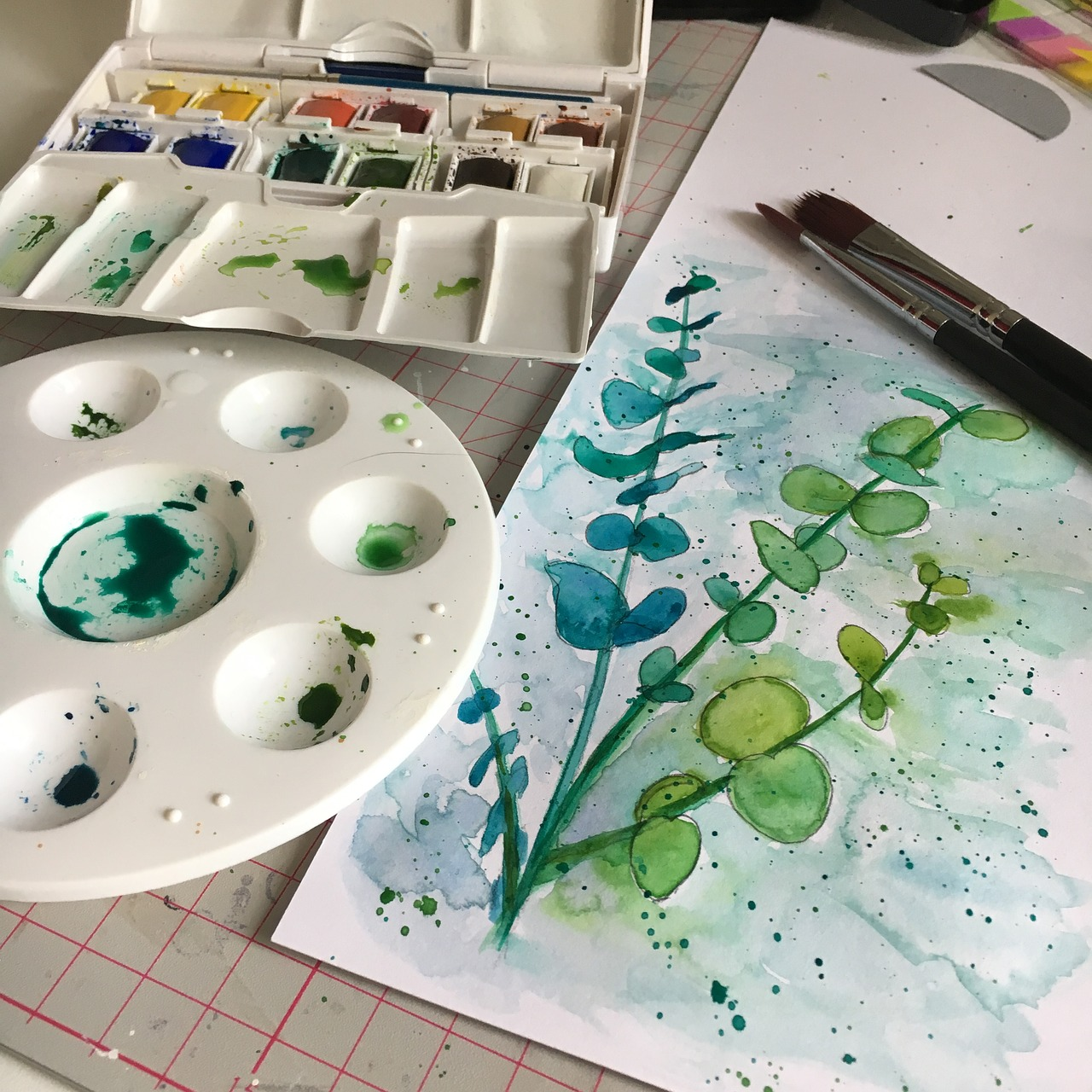 Best Watercolor Palettes