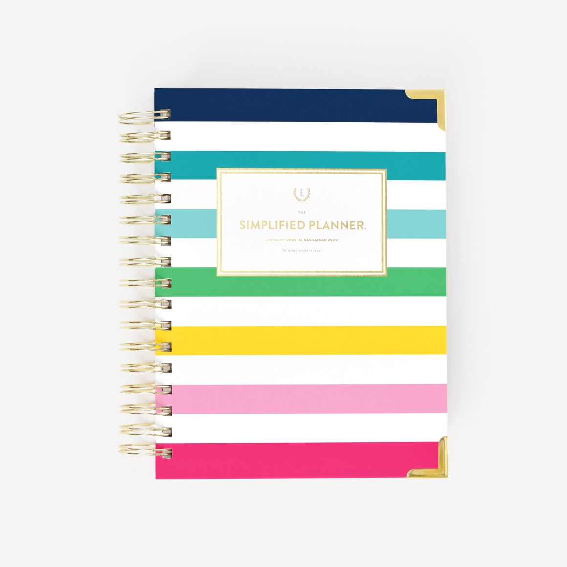 2020 Daily Simplified Planner